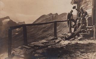Mountain climbers, no. 6 (3 August 1908)