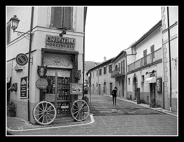 Norcia -  Angolo Corso Sertorio