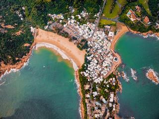 Shek-O Beach From Above