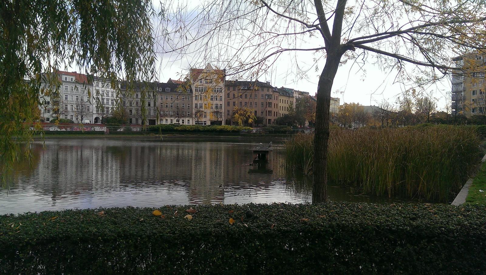 Herbst am Engelbecken