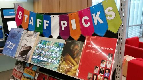 Upper Riccarton Staff Picks - NZ favourites