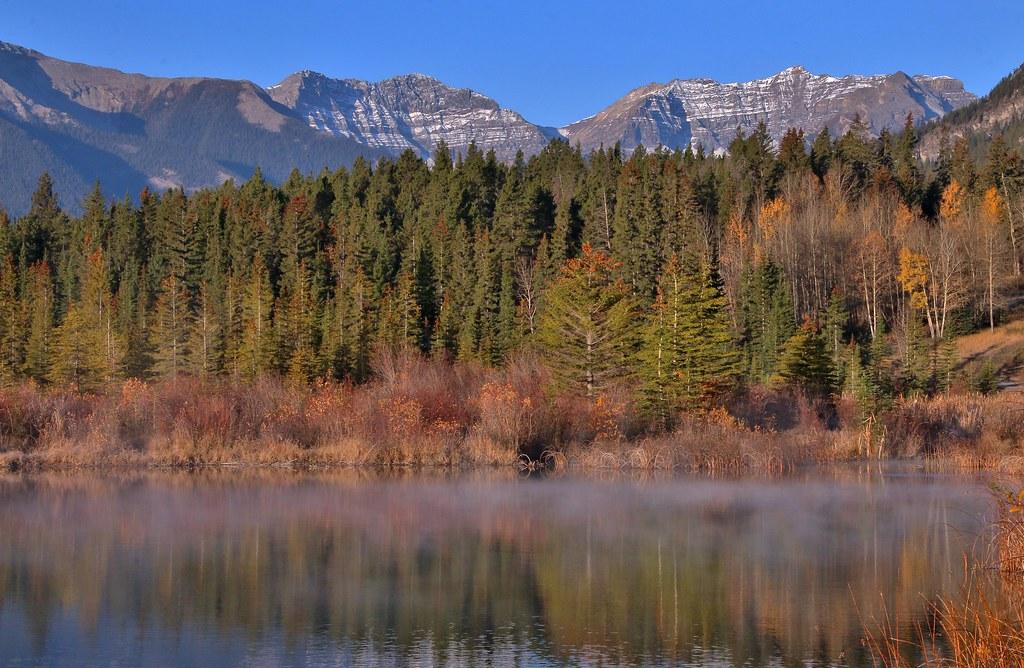 Vermilion Lakes, Banff, Canada