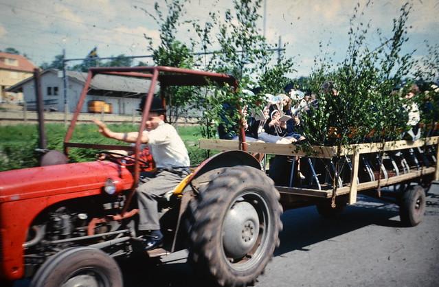 1968 - Realexamen på traktorn