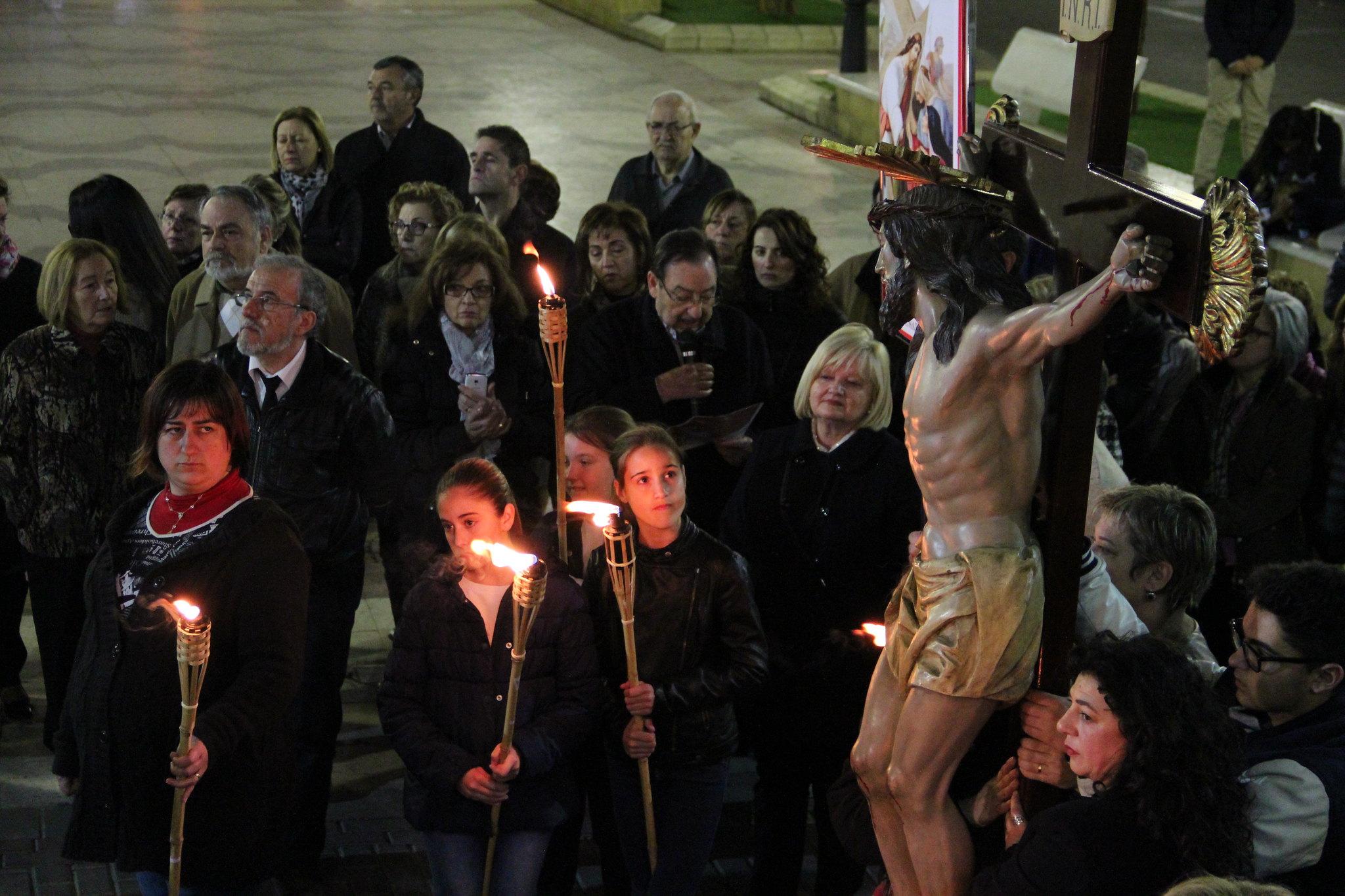 (2015-03-27) - VI Vía Crucis nocturno - Antonio José Verdú Navarro (57)