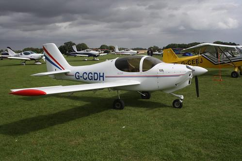 G-CGDH Europa XS [PFA 247-13746] Sywell