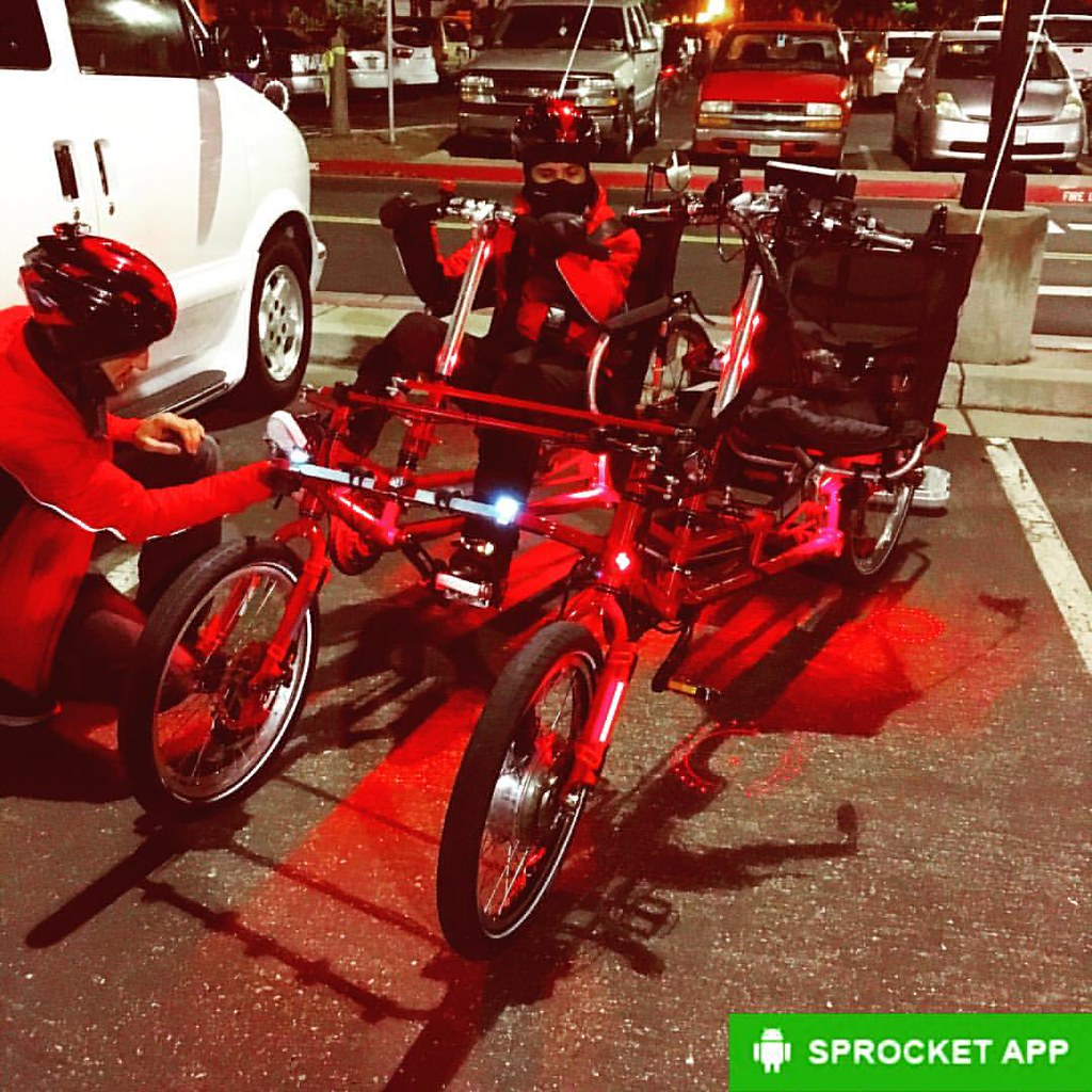 2014 Lightfoot Cycles recumbent side-by-side built out of … | Flickr