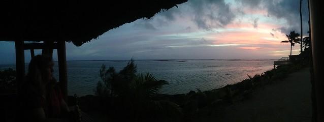 Rarotonga sunset booth