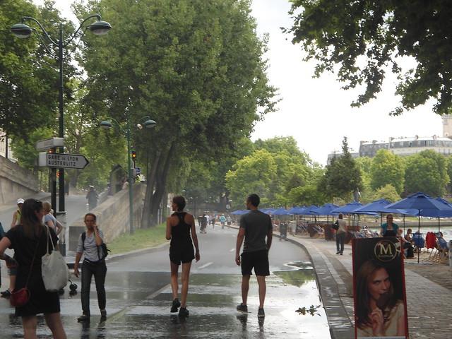 Mojado, PLAYAS DE PARIS/Douche, PARIS PLAGES 2014 – www.meEncantaViajar.com