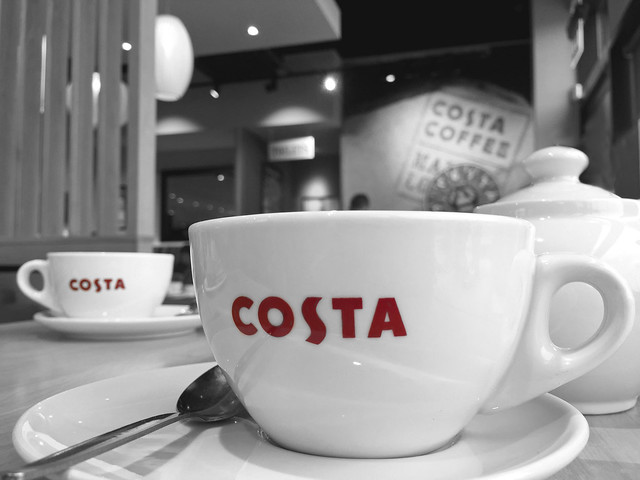 Coffee at Costa