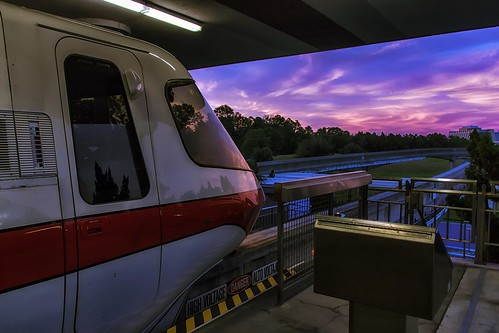 travel sunset vacation tourism architecture canon eos rebel orlando colorful florida fb outdoor dusk ttc tracks disney explore disneyworld transportation amusementpark fl monorail wdw dslr waltdisneyworld themepark touristattraction photomagic disneyresort explored garyburke disneyparks disneydetails monorailorange tickettransportationcenter klingon65 t1i canoneosrebelt1i monorailmonday disneyside photomagic2013