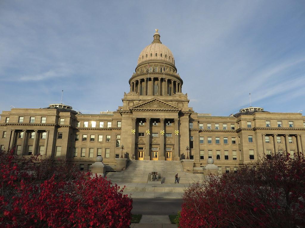 Idaho State Capitol Boise Idaho The Idaho State