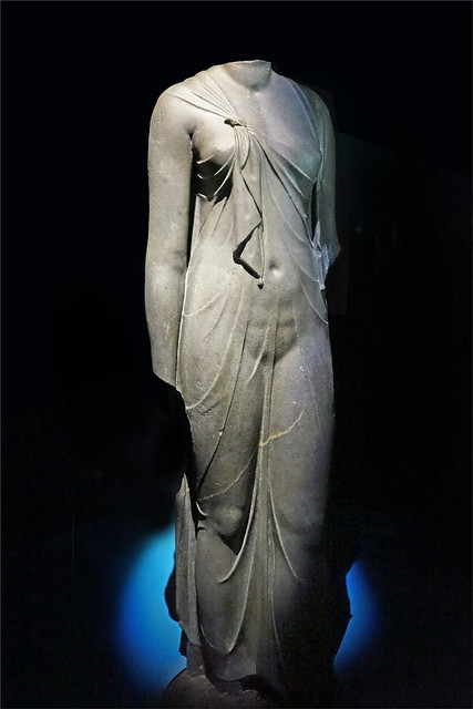 Statue de Reine (Exposition Osiris, Institut du Monde Arabe)