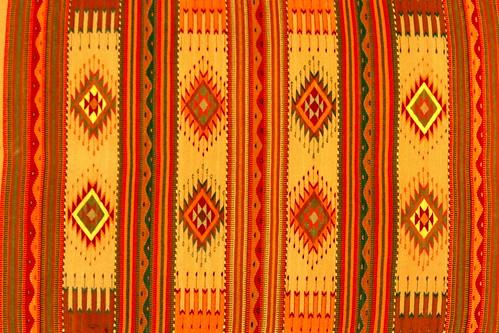 Zapotec rug