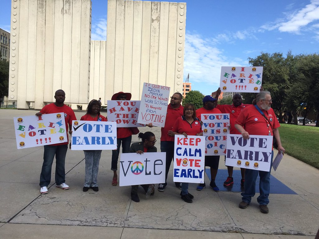 TX Get out the Vote 2016 - Go Early Vote!