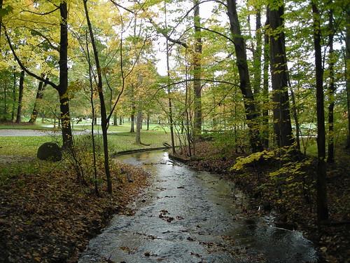 ohio munroefalls indianspring hiking stream autumn