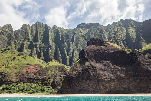 Napali Coast boat ride | by Matt Biddulph