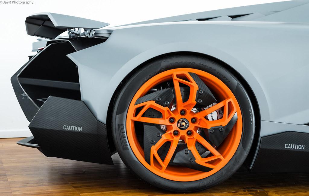 Lamborghini Egoista Very Orange Wheels Jayrao Flickr