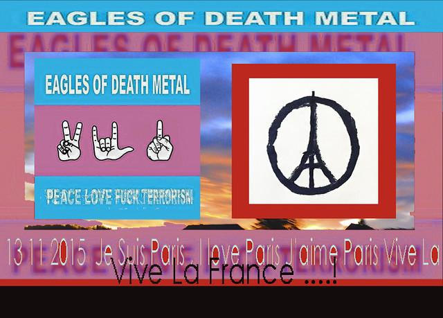 Eagls of Death Metal 13 Novembre 2015.