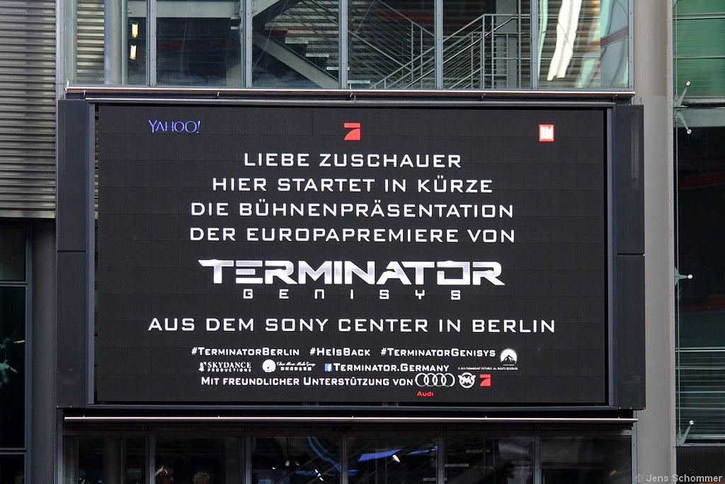 European Premiere THE TERMINATOR GENISYS