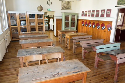 Antique German classroom | by quinet