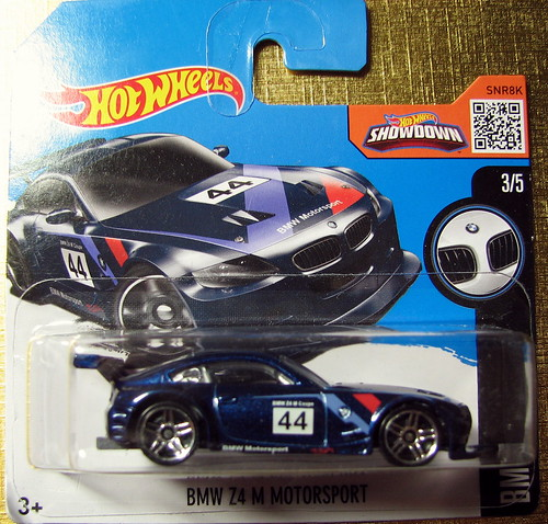 Hot wheels - 2016 - BMW Z4 M Motorsport Photo