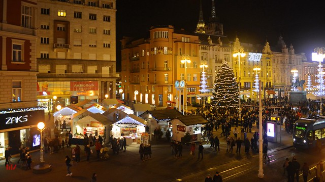 Zagreb Christmas Market during Advent