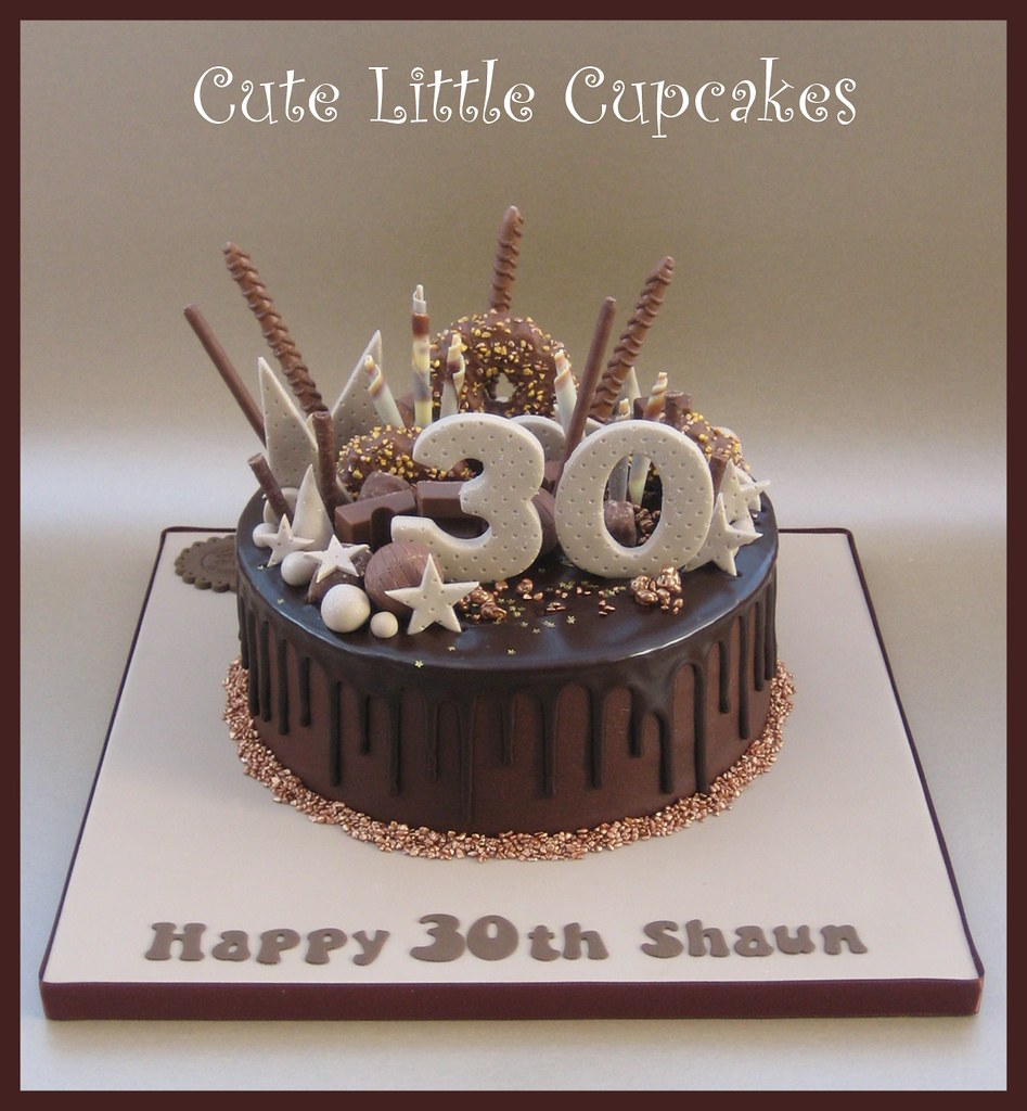 Surprising 30Th Birthday Drip Cake Heidi Stone Flickr Personalised Birthday Cards Paralily Jamesorg