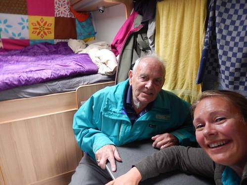 Mount Albert - met oom Dirk in de bus