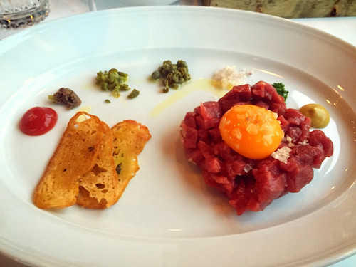 Steak tartare with Jos at THE ROAST ROOM – View on Path. | by Maarten and Lori Lens-FitzGerald