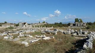 Central square Miletus