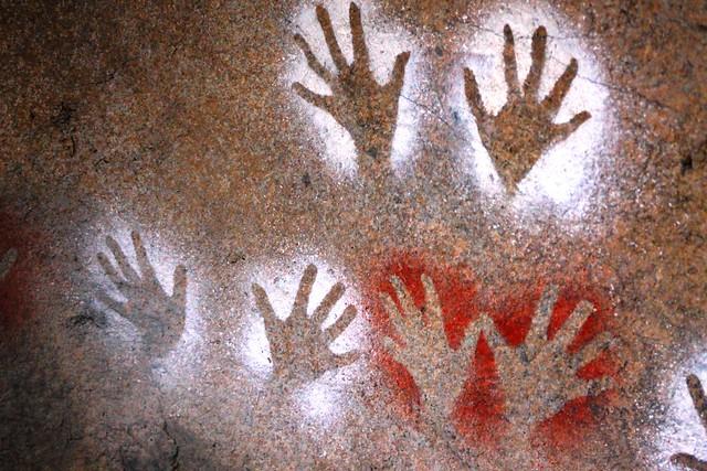 Aboriginal artwork (Taronga Zoo)