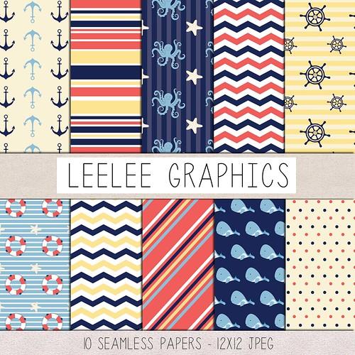 LeeLee Graphics - Nauticals Texture Pack