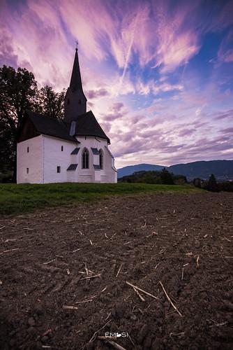 villach kärnten carinthia austria österreich kirche church sunset sonnenuntergang nikond800 nikon1635 abend