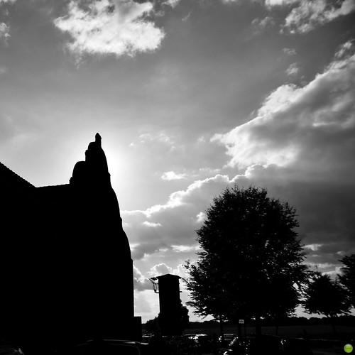 europe europa germany deutschland erkelenz farmersmarket bauernmarkt haushohenbusch autumn bw clouds cloud cloudporn landscape sky architecture architektura building buildings