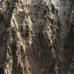 Rock formation in the Grand Canyon of the Yellowstone