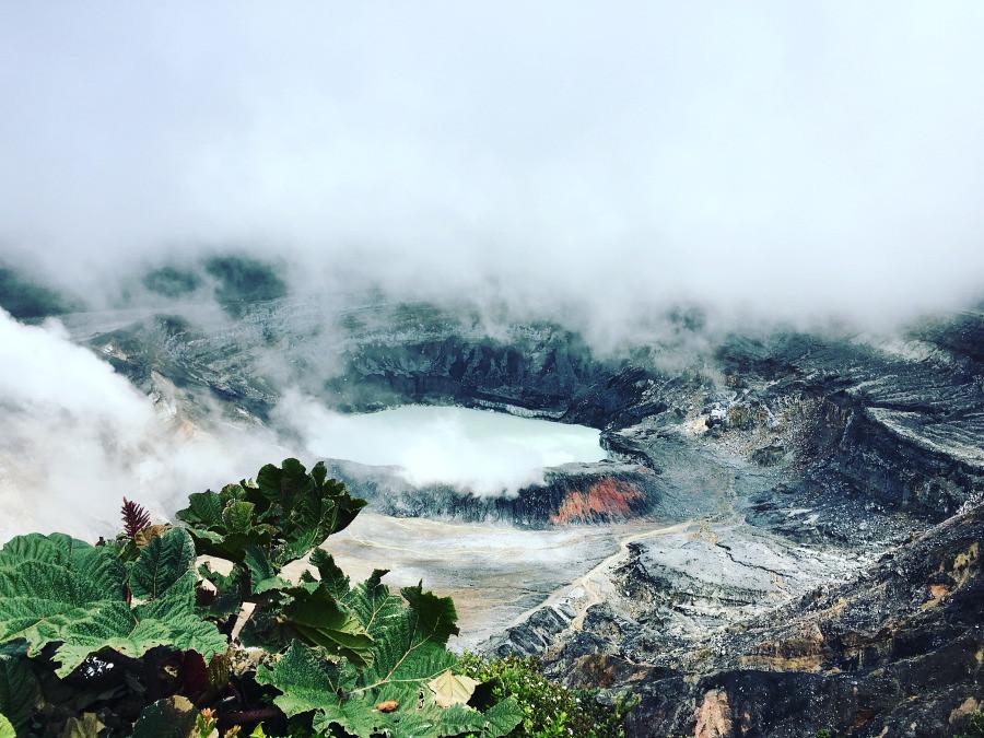 Ching, Anita; Costa Rica - Volcano Time Poas Volcano