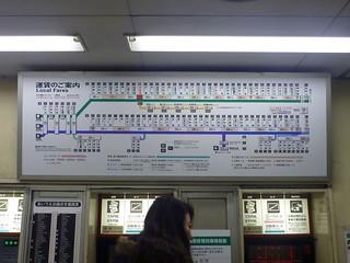Nankai Nakamozu Station   by Kzaral