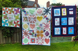 Bee Blessed Children's quilts