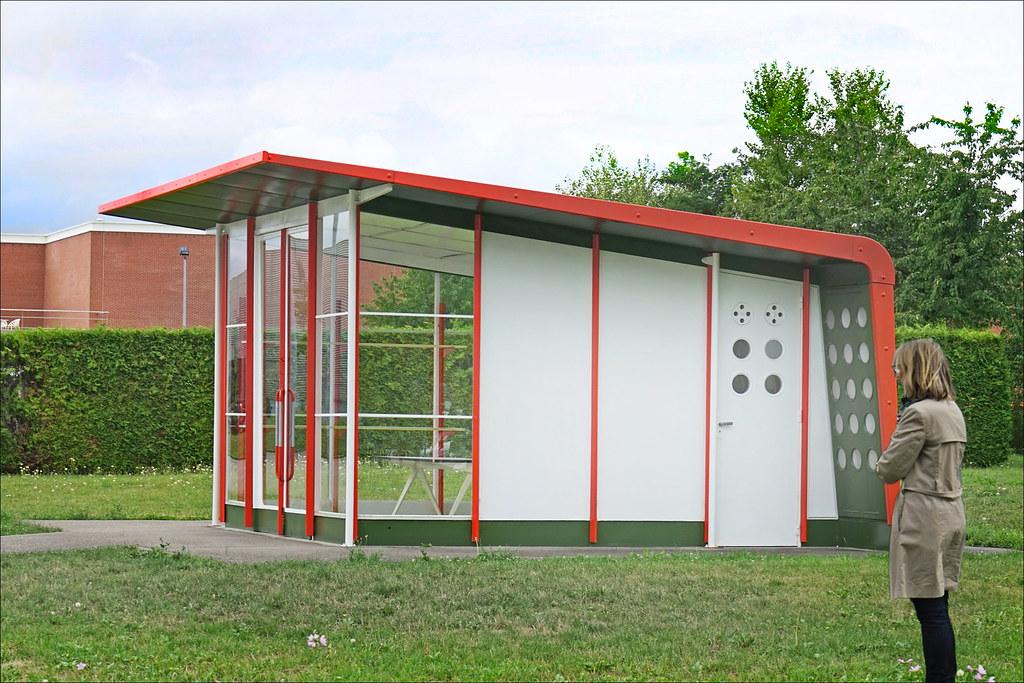 Station-service de Jean Prouvé sur le Campus Vitra (Weil am Rhein, Allemagne)