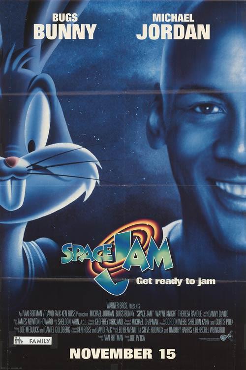 """""""Space Jam"""" (1996) Movie Poster"""