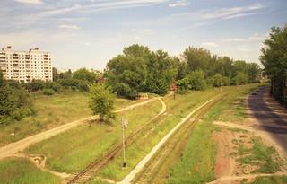 Kolomna rail - tram gate