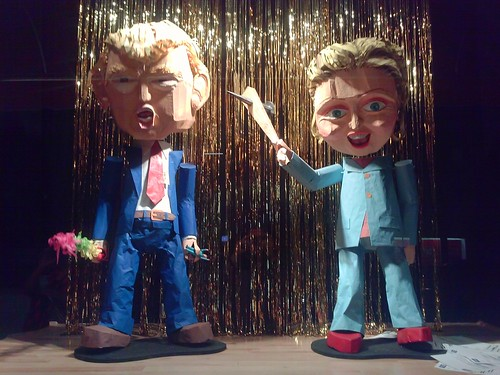 The Trump & Clinton Show | by blount.photos
