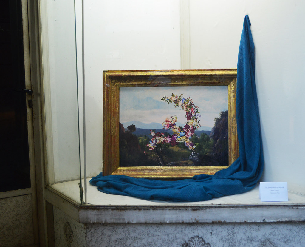 Alberto D Amico alberto d'amico, dillo coi fiori | una vetrina, via del cons