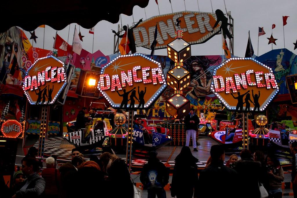 Dancer auf dem Markt