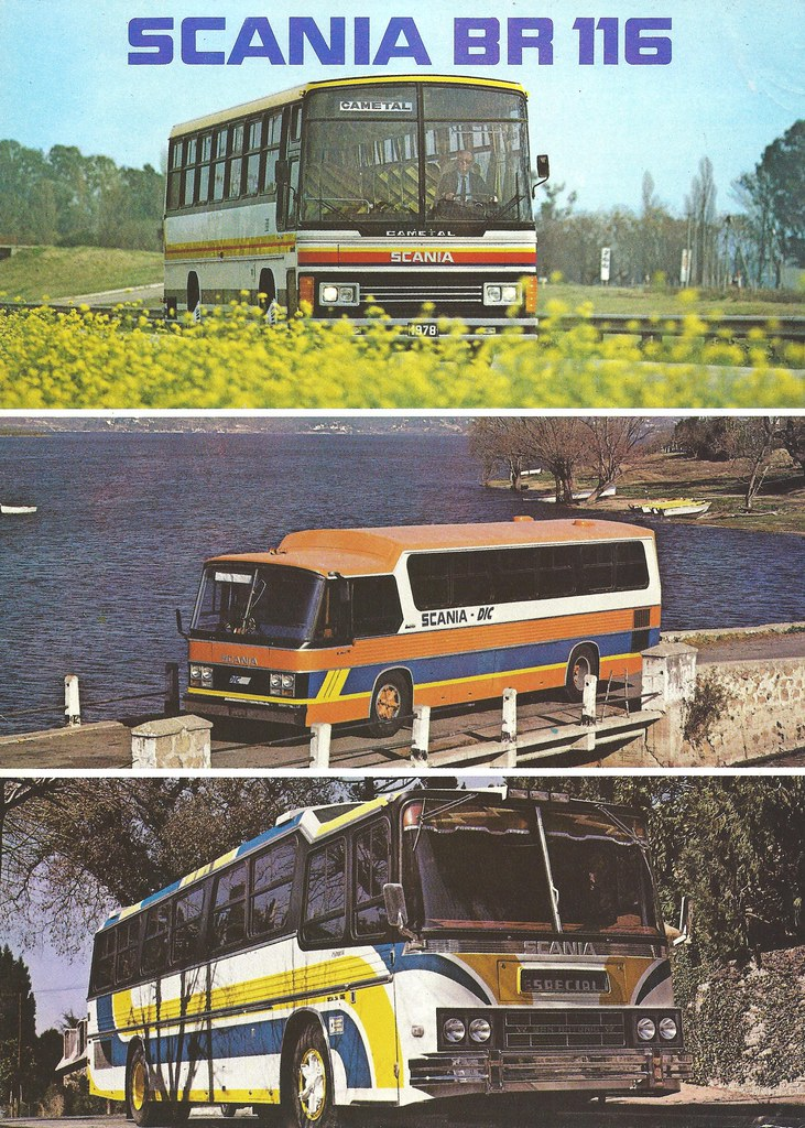 Scania | Brochure of buses built in Argentina, 1979 | JOHN