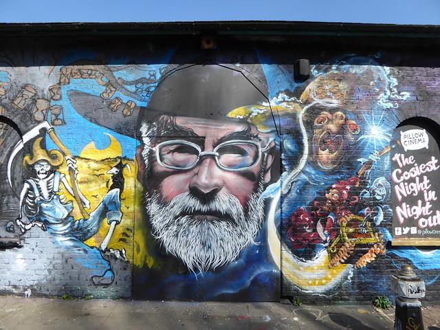 Terry Pratchett graffiti