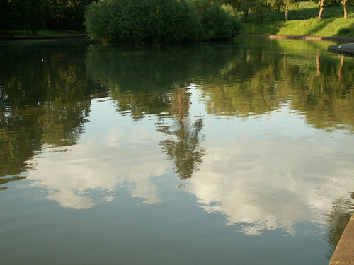 Sky Reflected Eastville Lake | by uncene