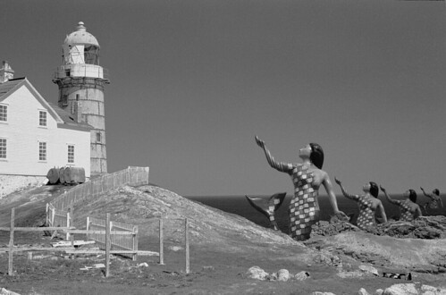 Giant Mermaids Attack Ferryland Lighthouse