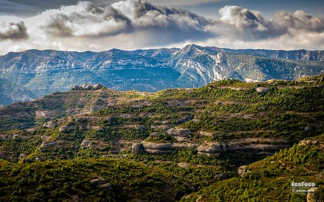 Parque Natural de la Serra de Montsant. Priorat, Cataluña, España.