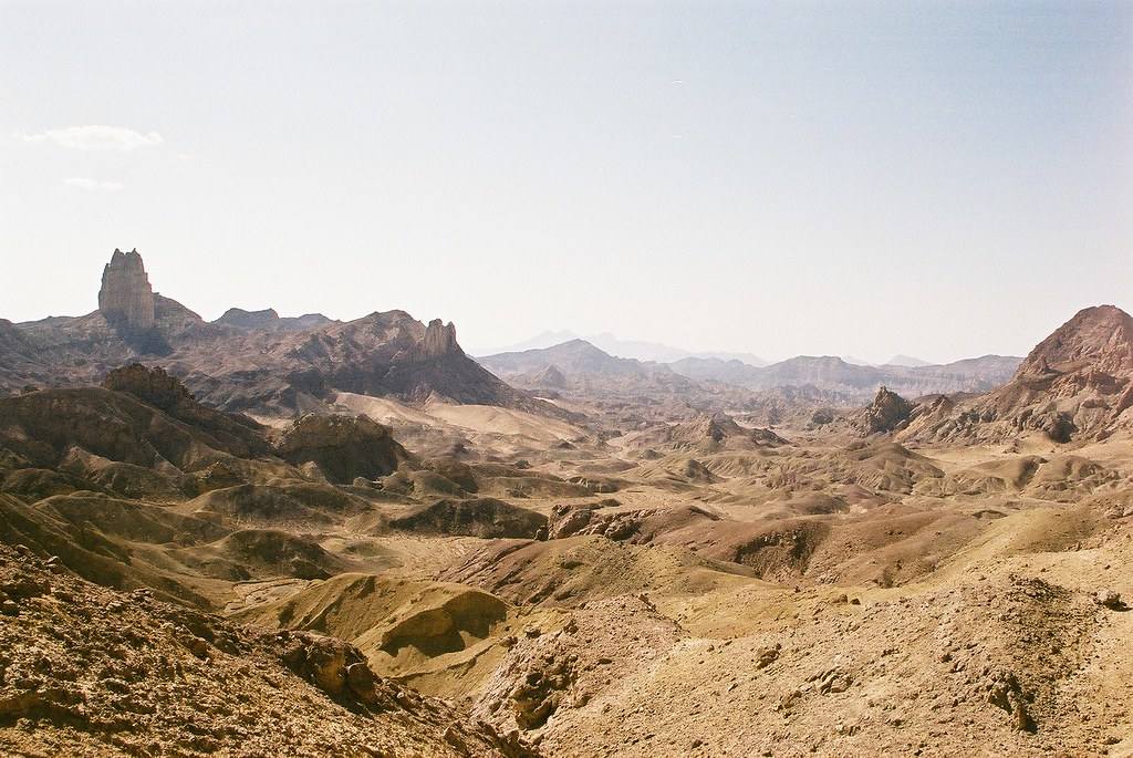 Looking out towards over the Durand line